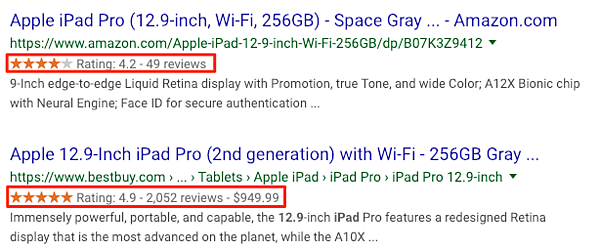 Apple CEO ratings example