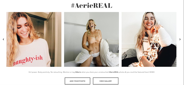 How to Personalize Product Delivery to Enhance Customer Experience Example Sharing Aerie