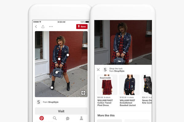 Pinterest Business Shop the Look Pin
