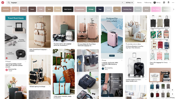 Pinterest Business Promoted Ad Pins Layout Design